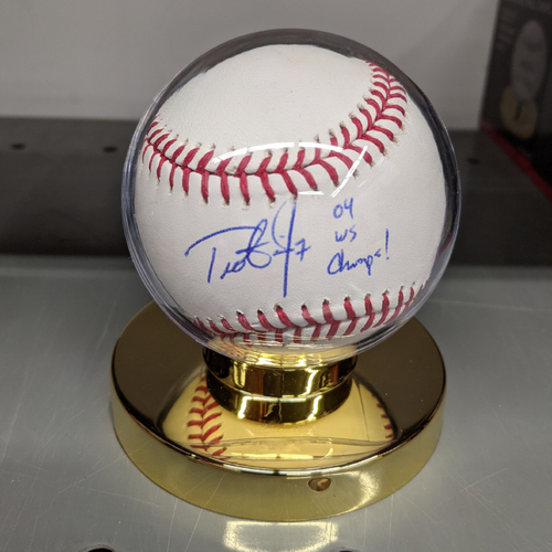 Photo of Trot Nixon #7 '04 WS Champs!' Autographed Baseball