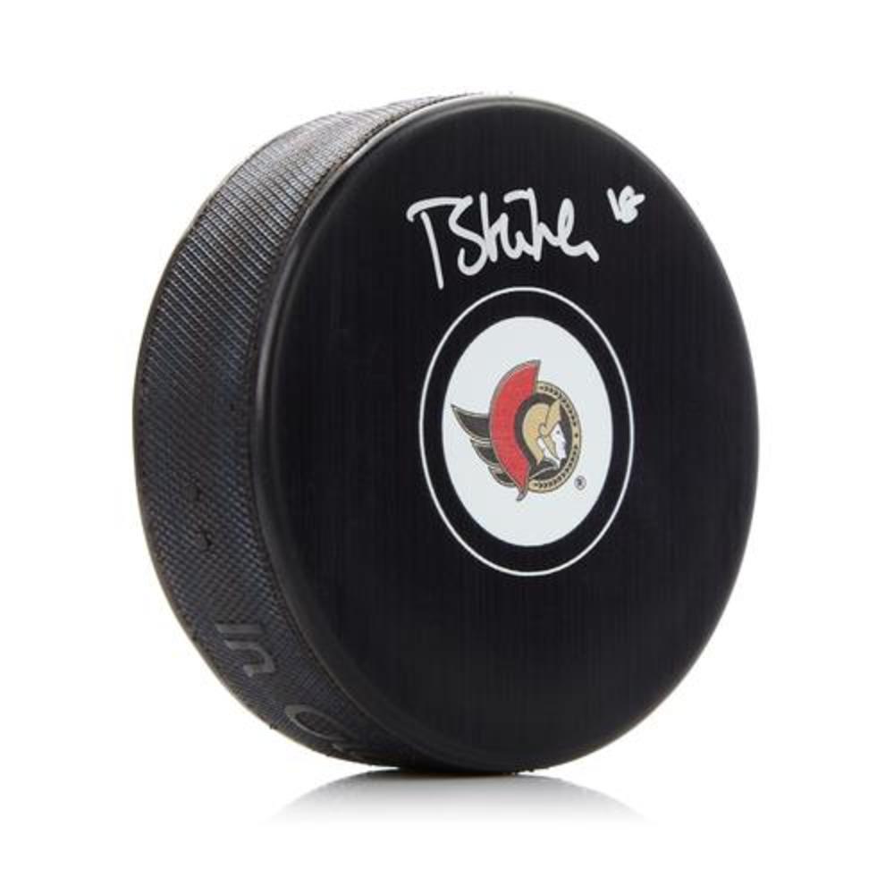Tim Stutzle Ottawa Senators Autographed Hockey Puck