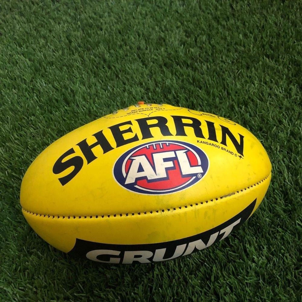 Carlton 2021 Round 17 Match Used Ball - #5