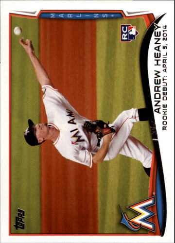 Photo of 2014 Topps Update #US13 Andrew Heaney RC