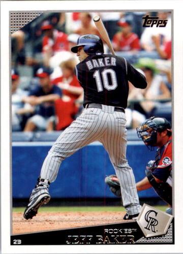 Photo of 2009 Topps #166 Jeff Baker