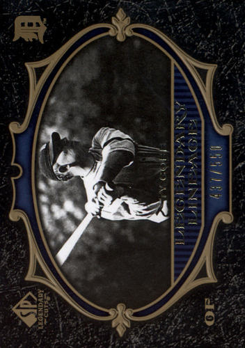 Photo of 2007 SP Legendary Cuts #135 Ty Cobb LL