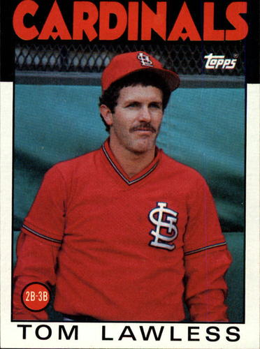 Photo of 1986 Topps #228 Tom Lawless