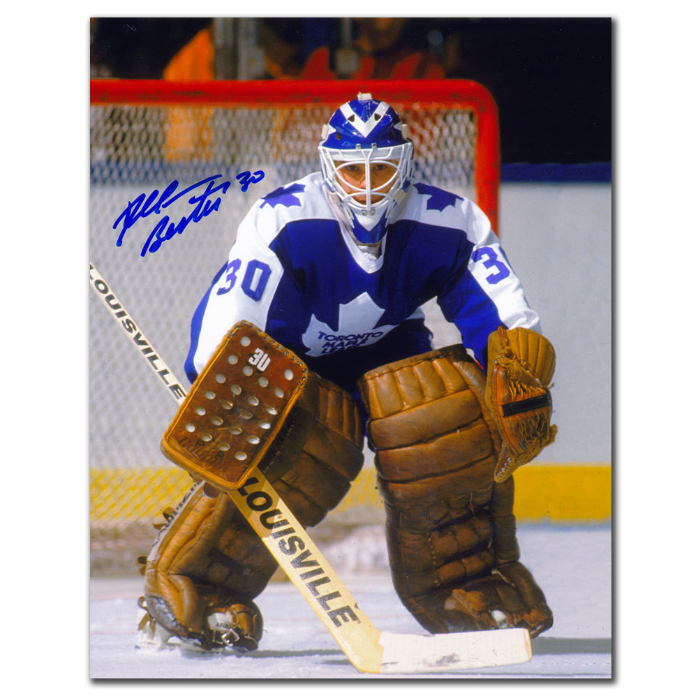 Allan Bester Toronto Maple Leafs ACTION Autographed 8x10
