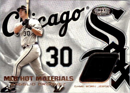 Photo of 2002 Hot Prospects MLB Red Hot Materials #MO Magglio Ordonez Jsy
