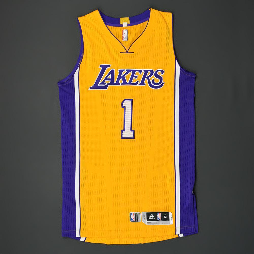 3e66e295 ... DAngelo Russell - Los Angeles Lakers - Kia NBA Tip-Off 16 ...