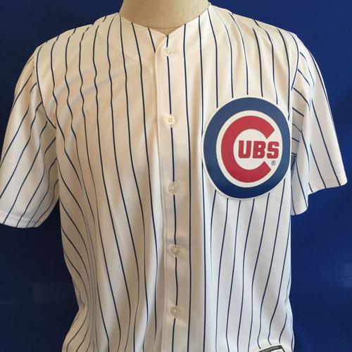 UMPS CARE AUCTION: Ben Zobrist Signed Chicago Cubs Jersey Size L