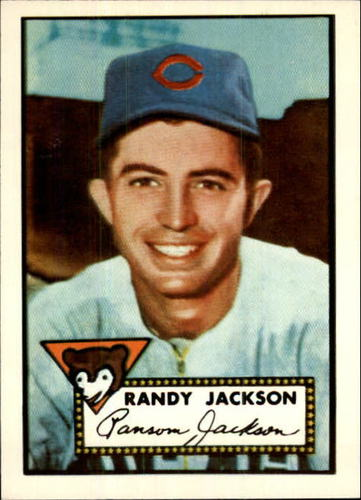 Photo of 1983 Topps 1952 Reprint #322 Randy Jackson