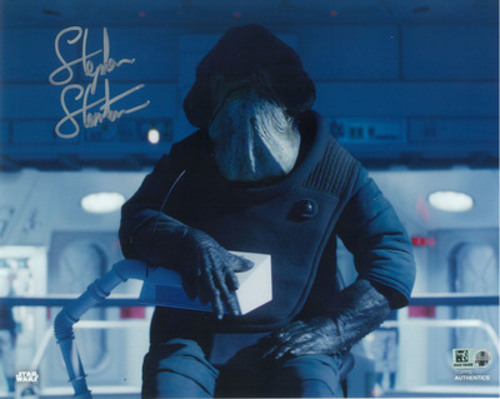 Stephen Stanton as Admiral Raddus 8x10 Autographed in Silver Ink Photo