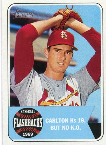 Photo of 2018 Topps Heritage Baseball Flashbacks #BFSC Steve Carlton