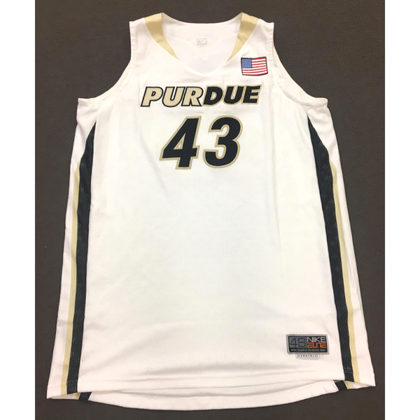 Photo of Poston #43 Purdue Women's Basketball White Jersey