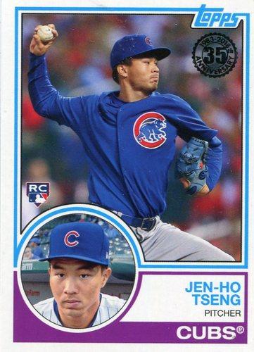 Photo of 2018 Topps '83 Rookies #838 Jen-Ho Tseng