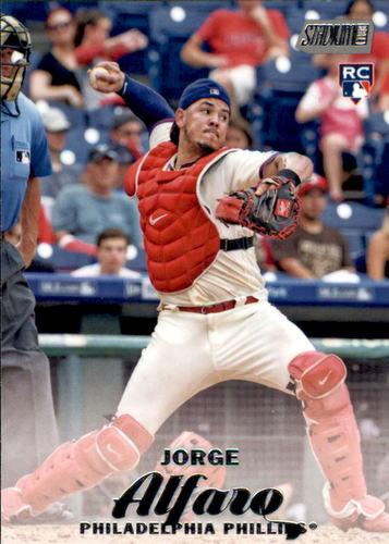 Photo of 2017 Stadium Club #108 Jorge Alfaro Rookie Card