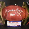 HOF - Packers James Lofton Signed Authentic Football