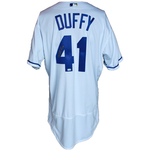 Photo of Autographed 50 Seasons Jersey: Danny Duffy
