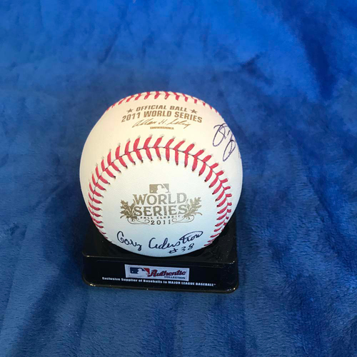 Photo of UMPS CARE AUCTION: 2011 World Series Crew Signed Baseball