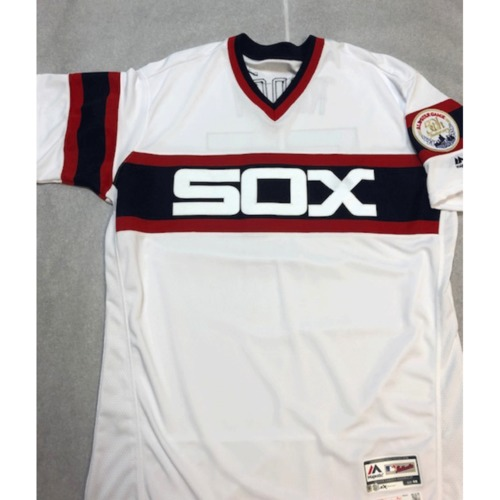 Carlos Rodon Team Issued  2018 Throwback Jersey