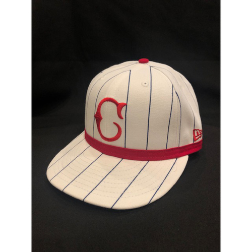 Photo of Wandy Peralta -- Game-Used Cap -- 1919 Throwback Game -- Nationals vs. Reds on June 2, 2019 -- Size 7