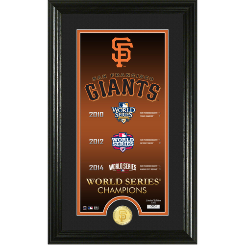 "Photo of San Francisco Giants ""Legacy"" Supreme Bronze Coin Photo Mint"