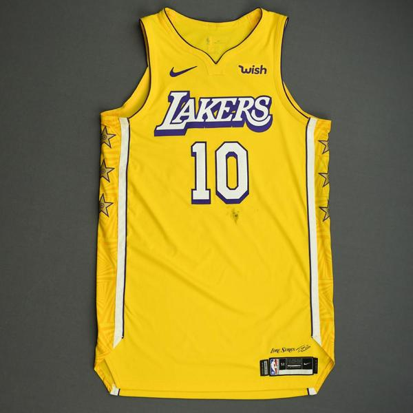 Image of Jared Dudley - Los Angeles Lakers - Christmas Day' 19 - Game-Worn City Edition Jersey - Dressed, Did Not Play
