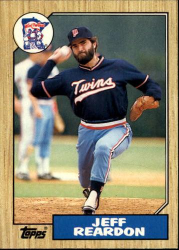 Photo of 1987 Topps Traded #98T Jeff Reardon