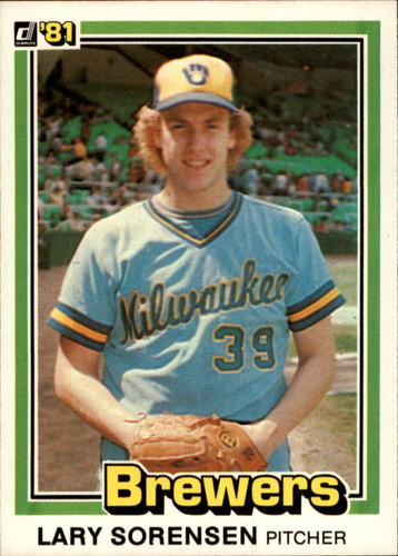 Photo of 1981 Donruss #325 Lary Sorensen