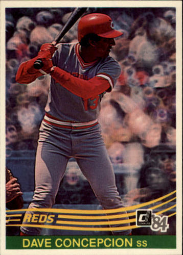 Photo of 1984 Donruss #121 Dave Concepcion