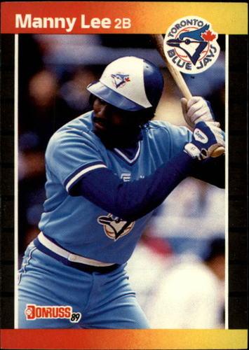 Photo of 1989 Donruss #504 Manny Lee
