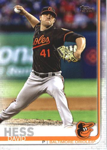 Photo of 2019 Topps #552 David Hess