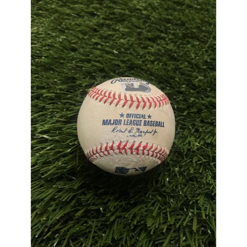 Photo of Rowdy Tellez Home Run Baseball - 7/27/2020