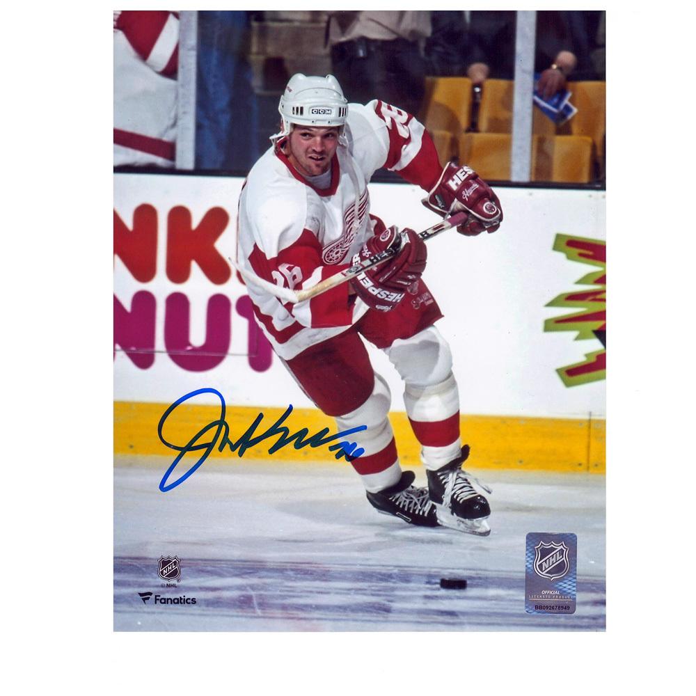 JOE KOCUR Signed Detroit Red Wings 8 X 10 Photo - 70334