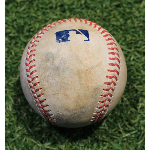 Photo of Game-Used Baseball: Yasmani Grandal 696th Career Hit (CWS @ KC 9/3/20)