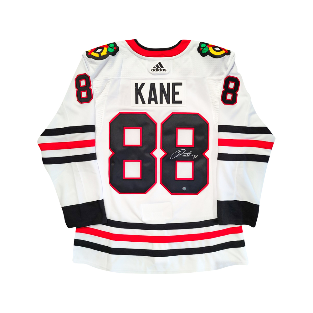 Patrick Kane Signed Blackhawks White Pro Adidas 2019-2021 Jersey