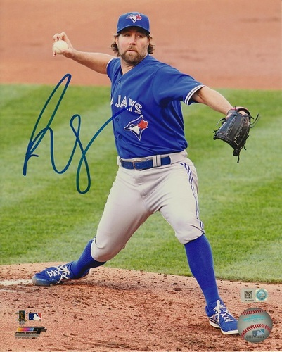 Photo of R.A. Dickey Autographed 8x10