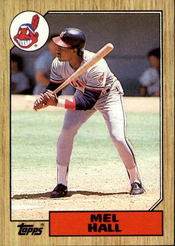 Photo of 1987 Topps #51 Mel Hall