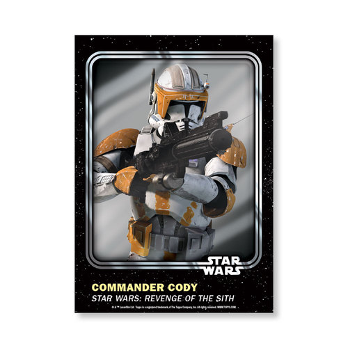 Commander Cody 2016 Star Wars Card Trader Base Poster - # to 99