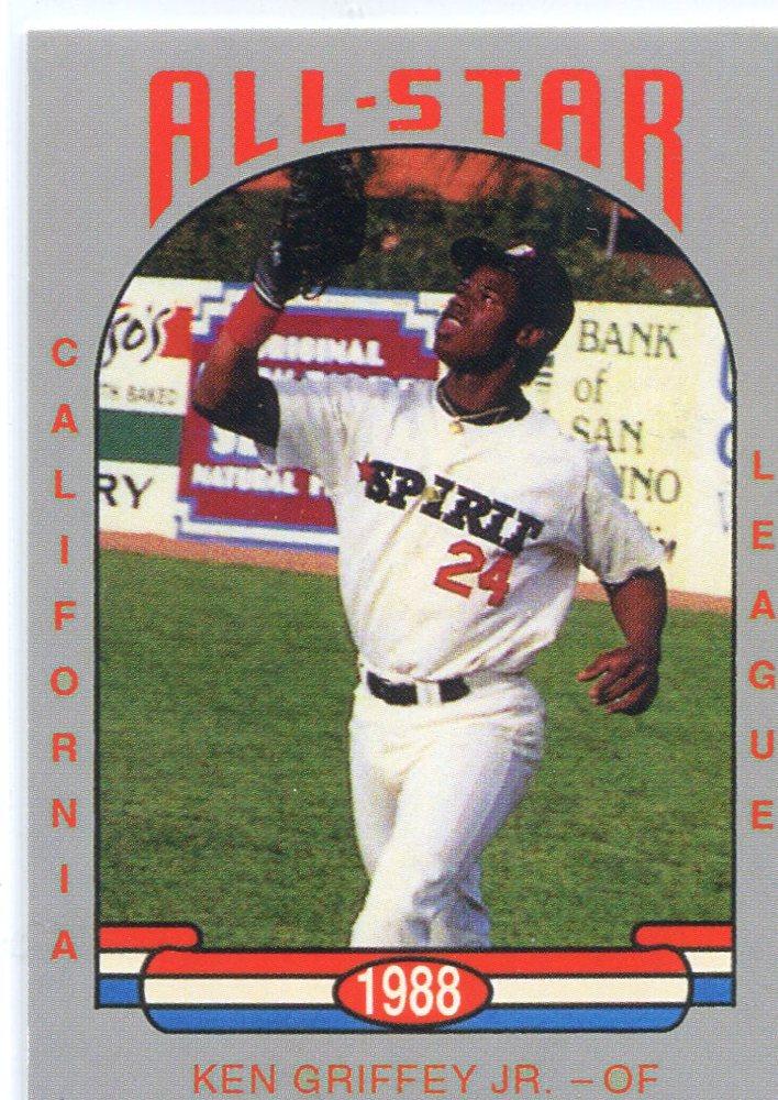 1988 California League All-Stars Cal League #26 Ken Griffey Jr.