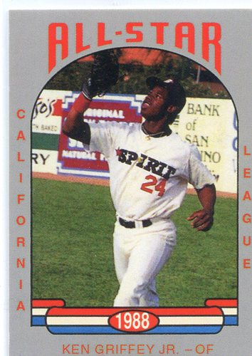 Photo of 1988 California League All-Stars Cal League #26 Ken Griffey Jr.