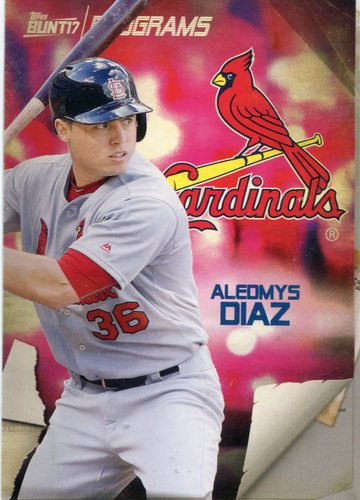 Photo of 2017 Topps Bunt Programs #PRAD Aledmys Diaz