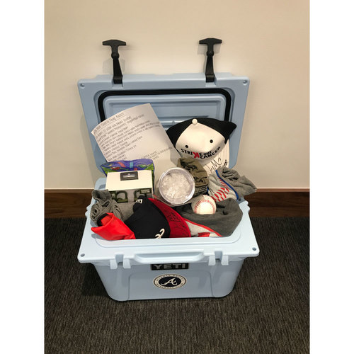 Braves Charity Auction - Braves Wives Favorite Things Basket - Jason Motte