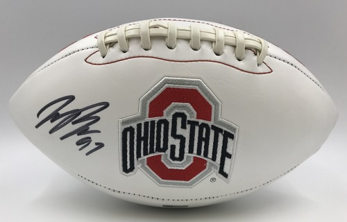 Photo of Joey Bosa Autographed Ohio State Buckeyes Football