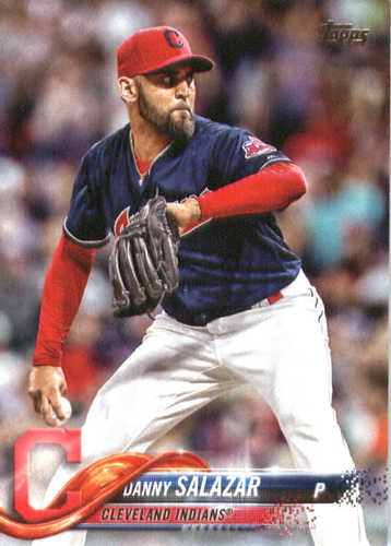 Photo of 2018 Topps #38 Danny Salazar