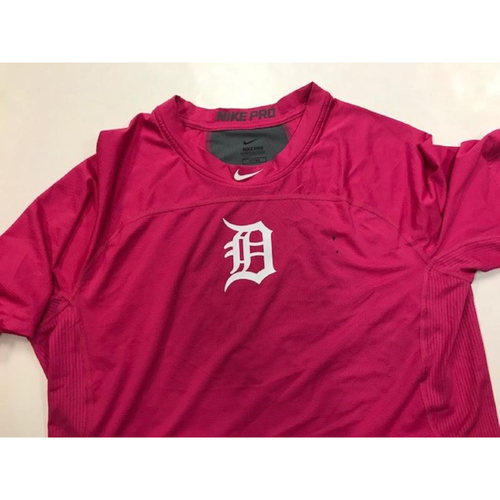 Photo of Team-Issued Pink Dri-Fit Shirt #37