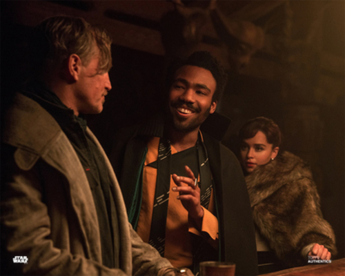 Beckett, Lando Calrissian, and Qi'Ra