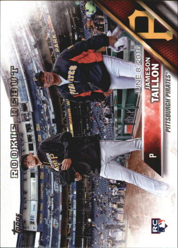 Photo of 2016 Topps Update #US157 Jameson Taillon Rookie Card