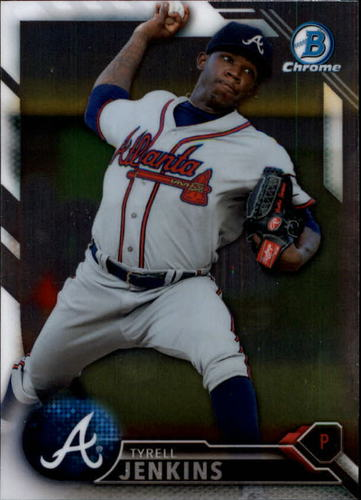 Photo of 2016 Bowman Chrome Prospects #BCP112 Tyrell Jenkins
