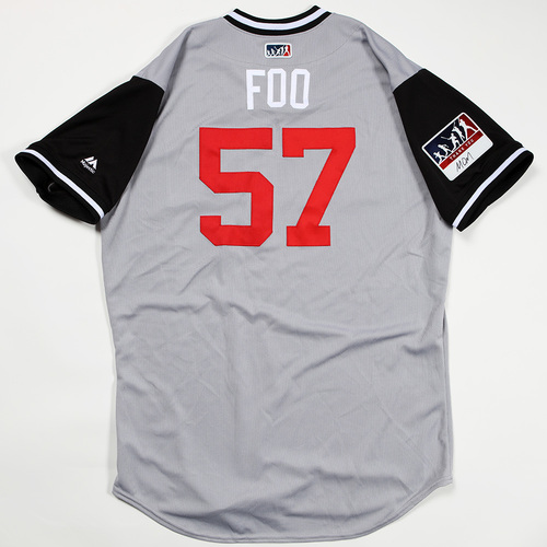 "Photo of Jace ""Foo"" Fry Chicago White Sox Game-Used Jersey 2018 Players' Weekend Jersey"