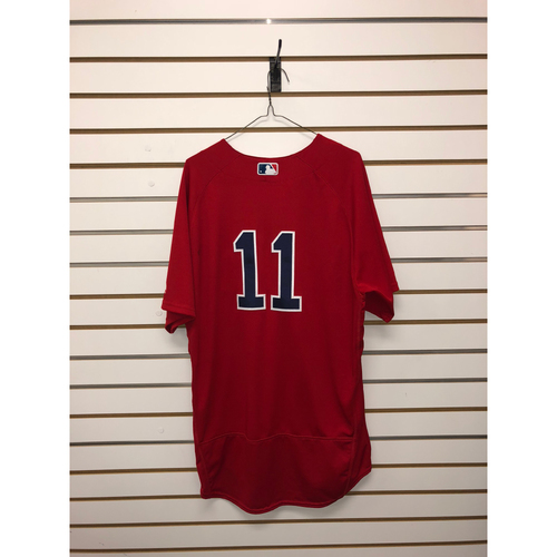 Photo of Rafael Devers Game-Used September 7, 2018 Home Alternate Jersey