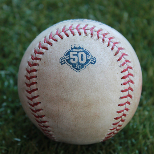 Photo of Game-Used Baseball: Robbie Grossman 440th Career Hit (MIN @ KC - 9/15/18)