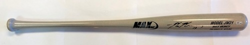 Photo of Max Muncy Autographed Game Model Max Bat